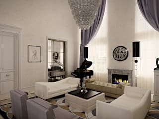 Roberts Design Classic style living room