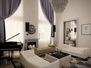 Living room by Roberts Design, Classic