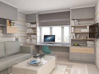 Roberts Design:  tarz Oturma Odası, Minimalist