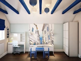 Chambre d'enfant de style  par Marina Sarkisyan, Minimaliste