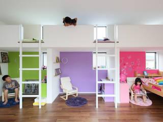 Nursery/kid's room by arakawa Architects & Associates