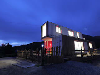 Nemo House, Container Residence Modern houses by thinkTREE Architects and Partners Modern