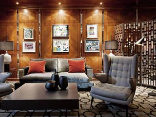 Lounge - Hotel Interiordesign aus Berlin:  Hotels von Fine Rooms Design Konzepte GmbH