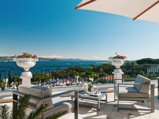 Terrasse - Hotel Interior Design:  Hotels von Fine Rooms Design Konzepte GmbH