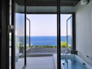 Phòng tắm phong cách hiện đại bởi 井上洋介建築研究所 Hiện đại