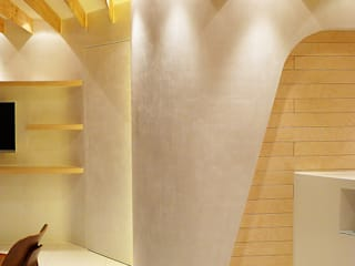 H Dental Studio Dinding & Lantai Modern Oleh thinkTREE Architects and Partners Modern
