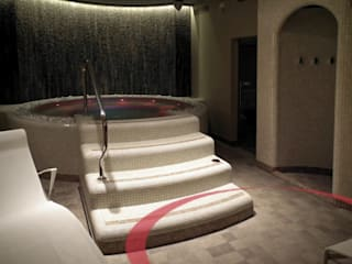 Spa privata, Vicenza Spa moderna di ITALIAN WELLNESS - The Art of Wellness Moderno
