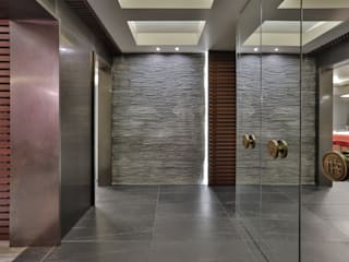 Modern walls & floors by PS MİMARLIK Modern