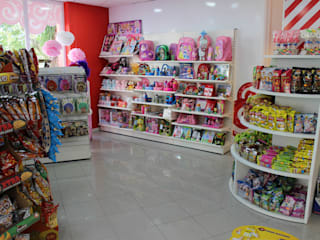 Tienda de Golosinas de Panatta Diseño Comercial Moderno