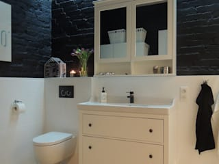 Studio Projektowe RoRO interior + design Eclectic style bathrooms