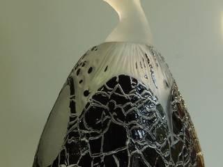Jane-Sylvie Van den Bosch - Glass Dancer, Seed & Life curve par Jane-Sylvie Van den Bosch Éclectique