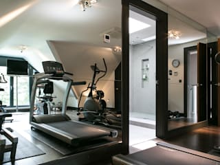 The Ultimate Sophistication Minimalist style gym by Finite Solutions Minimalist