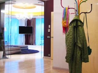 Квартира на Петровском острове в Санкт-Петербурге Коридор, прихожая и лестница в эклектичном стиле от Format A5 Fontanka Эклектичный