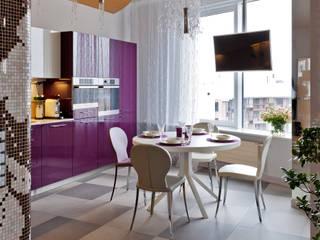 Квартира на Петровском острове в Санкт-Петербурге Кухни в эклектичном стиле от Format A5 Fontanka Эклектичный