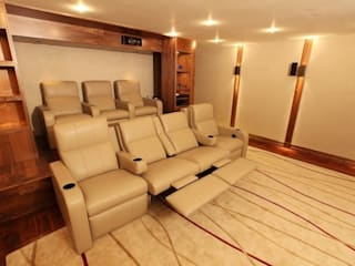 What Lies Beneath Home Cinema Modern style media rooms by Finite Solutions Modern