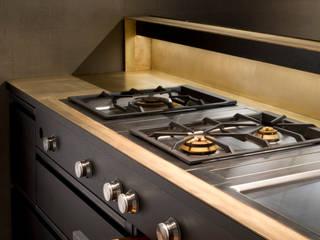 Küche Tombak Eiche Stahl :   von Wiedemann Werkstätten