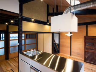 長崎工作室 Cocinas de estilo moderno