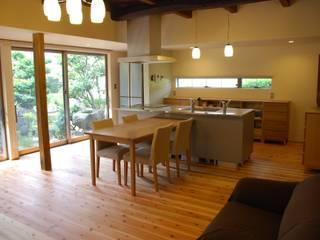 長崎工作室 Sala da pranzo moderna