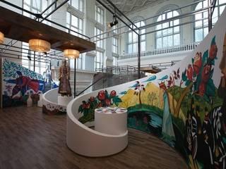 "Музей коньяка ""АРАРАТ"" Музеи в стиле модерн от дизайн студия 'LusiSarkis ' Модерн"