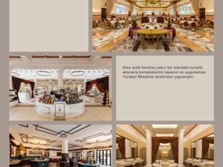 Classic shopping centres by YURDAER MİMARLIK HİZM.TİC.LTD.ŞTİ. Classic