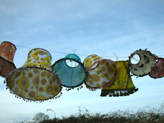 Truly Individual Lampshades: eclectic  by Random Makes, Eclectic