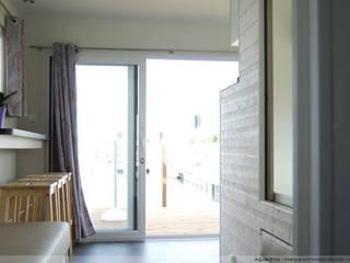 Aquashell:  Bedroom by Floating Habitats T/A AQUASHELL