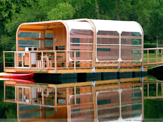 Kevell ...The Ecological Home:  Houses by Floating Habitats T/A AQUASHELL