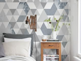 Geo Texture:   by Tektura Wallcoverings