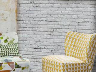 White Brick Tektura Wallcoverings Walls & flooringWallpaper