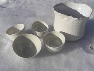 vaisselle porcelaine par Atelier Entre Terres Éclectique