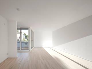 ORDINATION WIENERWALD:  Wohnzimmer von juri troy architects