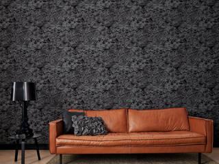 Paredes y suelos de estilo  por Tektura Wallcoverings