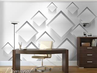 Photo wallpapers in office: modern  by Demural, Modern