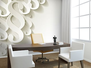 Photo wallpapers in office de Demural Moderno