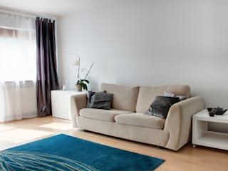 Living room by Studio projektowe SUZUME