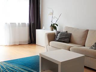Livings de estilo escandinavo de Studio projektowe SUZUME Escandinavo