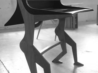 Le bureau Madame (une création de Thomas Longuefosse) par Thomas Longuefosse Éclectique