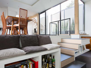 moderne Gang, hal & trappenhuis door agence MGA architecte DPLG