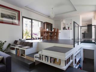 en coeur d'ilôt par agence MGA architecte DPLG Moderne