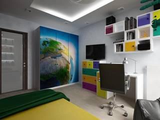 młodzieżowy Nowoczesny pokój dziecięcy od ZAWICKA-ID Projektowanie wnętrz Nowoczesny