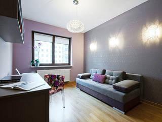 Mieszkanie do wypoczynku Klasyczne domowe biuro i gabinet od ZAWICKA-ID Projektowanie wnętrz Klasyczny