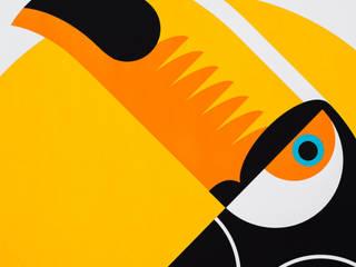 Toucan Screen print: modern  by The Lost Fox, Modern