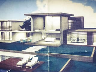 Modern Houses by DETAY MİMARLIK MÜHENDİSLİK İÇ MİMARLIK İNŞAAT TAAH. SAN. ve TİC. LTD. ŞTİ. Modern