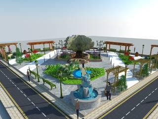 Park Bahçe Tasarım Projesi DETAY MİMARLIK MÜHENDİSLİK İÇ MİMARLIK İNŞAAT TAAH. SAN. ve TİC. LTD. ŞTİ. Klasik Bahçe