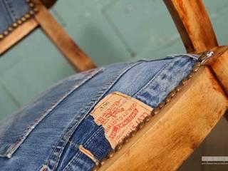 """La chaise """"Rafaela"""" par Mes Coudes sur la Commode Industriel"""