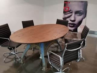 Dining and meeting tables V I Metal Ltd Office spaces & stores