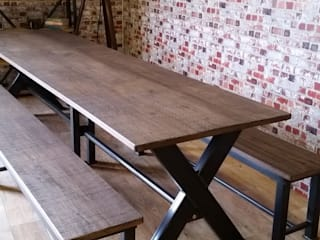 Dining and meeting tables V I Metal Ltd Oficinas y tiendas