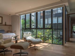 PH Andersen: Recámaras de estilo  por Faci Leboreiro Arquitectura