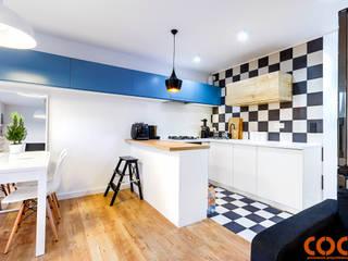 COCO Pracownia projektowania wnętrz Cocinas de estilo moderno