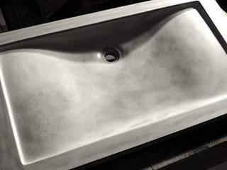 Concrete Wave Sink : minimalist  by Forma Studios , Minimalist